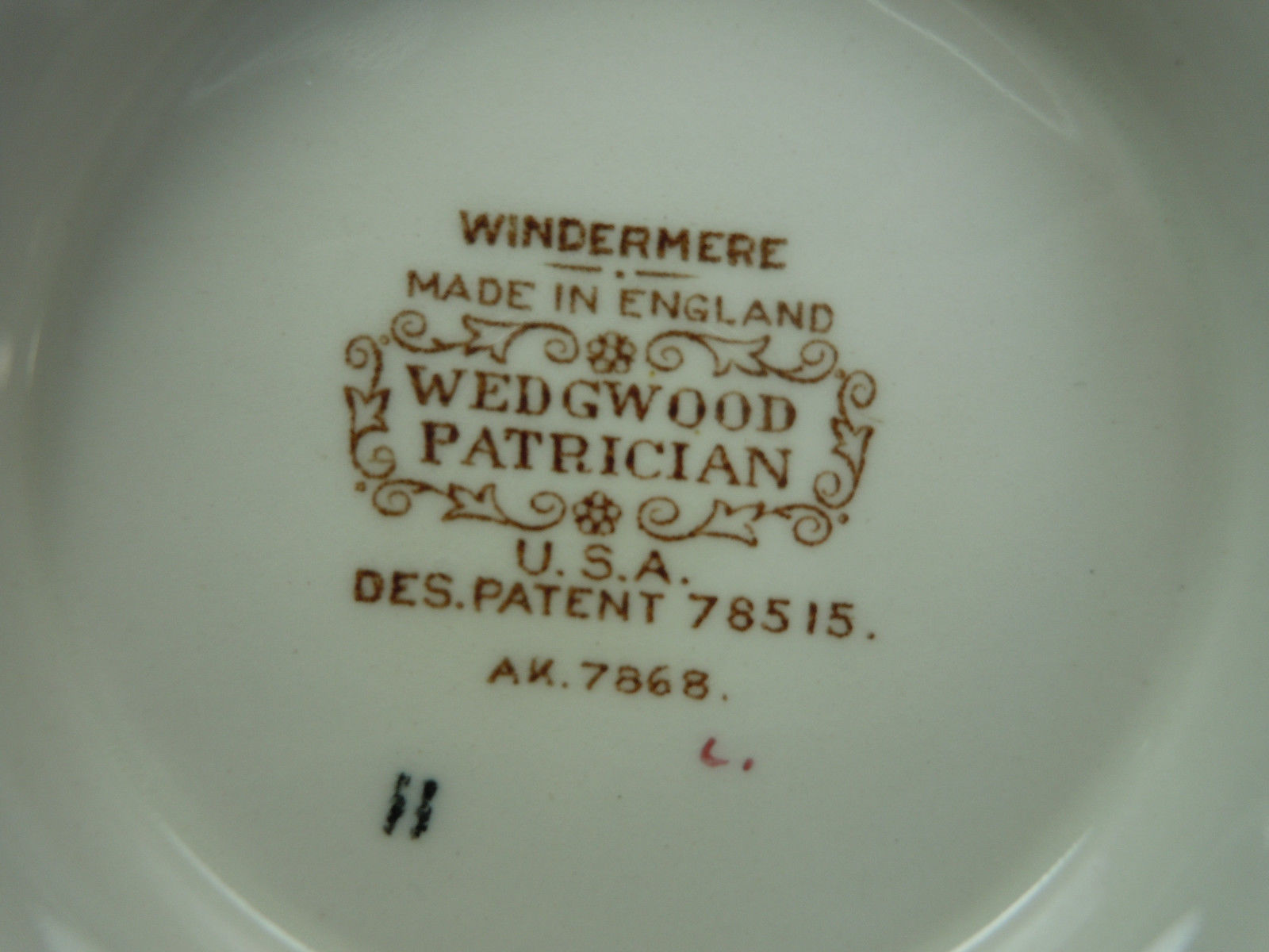 Wedgwood Windermere Multicolor Cup and Saucer Set
