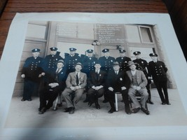 """Vintage Original 10x12"""" Photo Rapid City Police Department 1935 dated wi... - $100.00"""