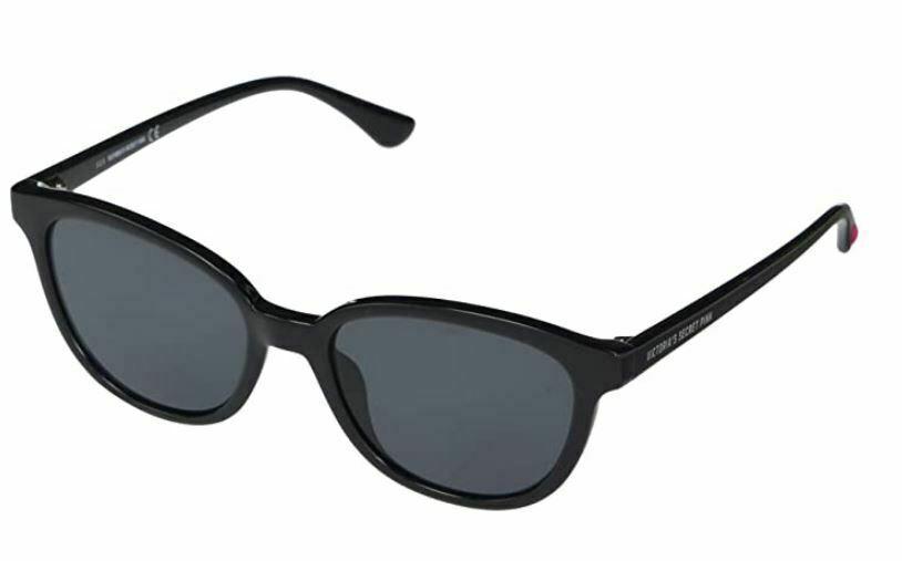 victoria's secret pk0020 solid black new women's sunglasses