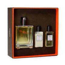 Hermes Terre D'Hermes EDT Spray 3.3 oz + Aftershave 1.35 oz + Shower Gel 2.7 oz  image 3
