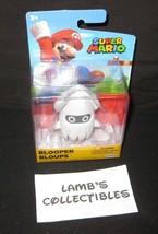 """World of Super Mario Nintendo Blooper 2.5"""" Action figure Jakks Pacific t... - $21.34"""