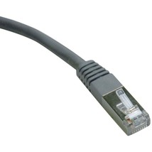 Tripp Lite N125-050-GY CAT-6 Gigabit Molded Shielded Patch Cable (50ft) - $44.42