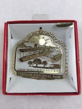 Nations Treasures Carillon Historical Park Ohio Brass Metal Souvenir Ornament - $30.00