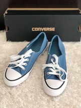 New CONVERSE Chuck Taylor All Star Ctas Coral Ox Blue Sneakers Women's 5... - $48.93 CAD