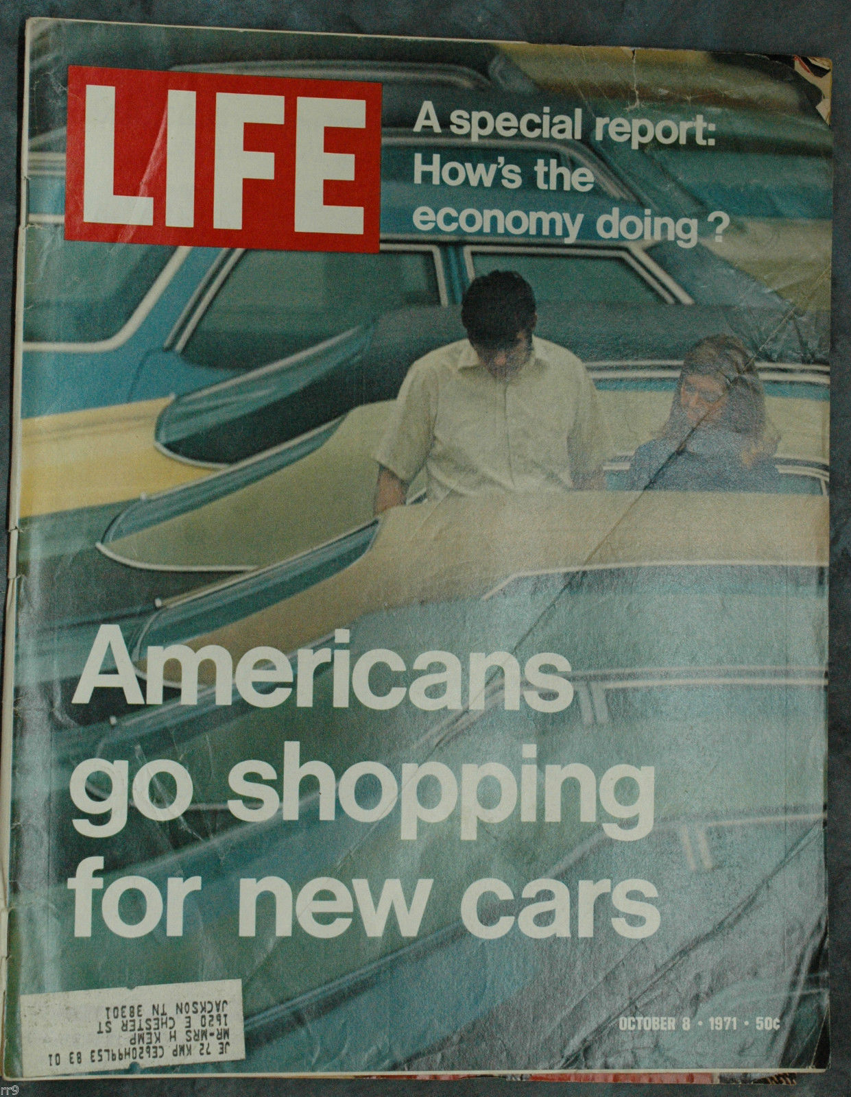 Primary image for Life Magazine October 8, 1971 How's the Economy Doing? Americans New Cars Hunt