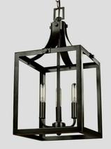 Labette 3-Light Heirloom Bronze Hall-Foyer Pendant by Sea Gull Lighting - $89.35