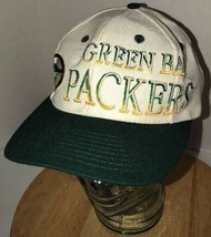 Vintage Green Bay Packers 90s Wool Blend Hat Cap Snapback Twins Enterprise Nfl - $46.95