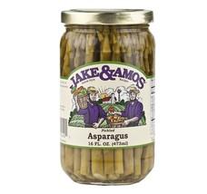 Jake & Amos Pickled Asparagus 16 oz. (3 Jars) - Vegan, Non-GMO - Traditi... - $34.79