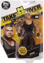 "☆ NEW 2017 MATTEL WWE NXT TAKE OVER AKAM 6"" ACTION FIGURE BUILD ANNOUNCE... - $22.00"