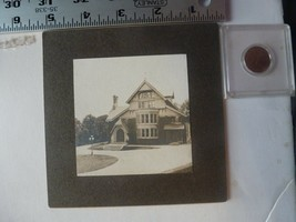 Cabinet Photo-Lehigh College Residence Allentown PA 1890's - $33.78