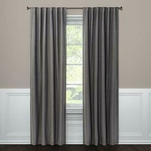 108x50 Aruba Linen Blackout Curtain Panel Gray - Threshold™ - $20.00