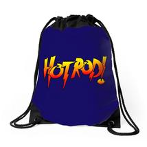 Rowdy Roddy Piper Hot Rod Vintage Drawstring Bags - $35.00