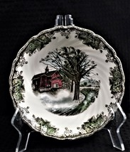 "Vtg Johnson Brothers Friendly Village ""Autumn Mists"" Round Vegetable Bowl - $26.99"