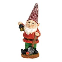 #10016217 *LITTLE LANTERN GNOME SOLAR LIGHTUP STATUE* - $34.30
