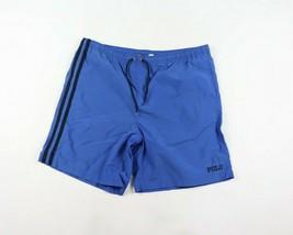 6943779d30 Vintage 90s Polo Sport Ralph Lauren Homme Large Sort Out Rayé Natation  Shorts - $42.00