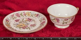 Vintage Tea Cup & Saucer Old Royal Jackson Bone China mbh - $24.74