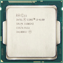 Intel i3-4160 3.06Ghz Dual Core 3MB Socket LGA1150 Processor CPU SR1PK T... - $51.50