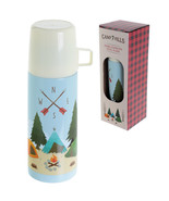 Funky 350ml Flask Camping Design Hot or Cold Drinks Thermos Gift Present - $20.78