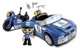 Pinypon Vehicle Of Police Includes Its Motorcycle Pin And Put Mix Is Max... - $213.38