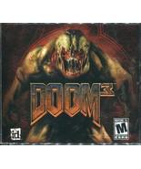 Doom 3 - (PC, 2004) - Three Disks - $3.95