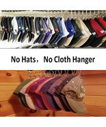 Hat Rack Cap Organizer Hanger, Hat Holder, Hat Organizer Baseball Caps H... - £18.36 GBP