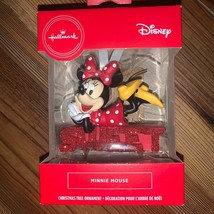 Hallmark Disney Minnie Mouse SWEET Christmas Tree Holiday Ornament New - $18.00