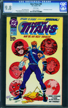 New Titans #99- CGC 9.8-first Arsenal-key Issue-nightwing- 0241120023 - $230.38