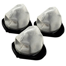 3-Pack HQRP Dust Cup Filter fits Shark Hand Vacuums, XF769 / XSB726N Rep... - $14.35