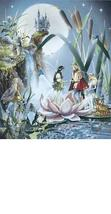 Fairy Wedding Ron Jean Henry Collectible Vintage 8X10 Color Fantasy Foil... - $7.99