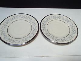 2 Lenox Windsong Saucers ~~ PRICE DROP - $9.99