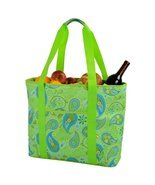 Picnic at Ascot  Extra Large Insulated Cooler Bag - 30 Can Tote - Paisle... - $41.95