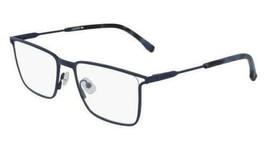 NEW Lacoste L2262 424 Matte Blue Eyeglasses 56mm with Lacoste Case - $89.05