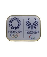 Tokyo 2020 Olympics Paralympics Emblem Pin Badge Square Not for Sale fro... - $25.00