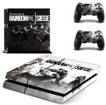Tom Clancy's Rainbow Six Siege PS4 Skin Sticker Cover For Sony PS4 PlayStation 4 - $19.00