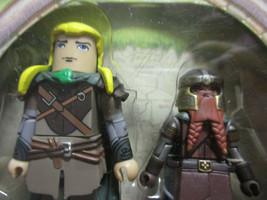 Lord of the Rings Mini Mates Legolas Gimli Elven archer swordsmen LOTR F... - $30.82