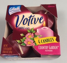 Glade Votive Candles Country Garden wedding dinner party hostess gift - $10.84