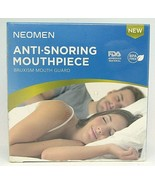 Neomen Anti-Snoring Mouthpiece Bruxism Mouth Guard New in Sealed Package - $11.87