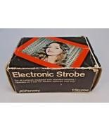 JC Penney Electronic Strobe 918-9135 Untested Instructions Vintage  - $4.95
