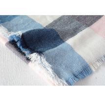 Hot Fashion Warm Cashmere Plaid Blanket Women's Warp Scarf Pashmina Shawl image 10