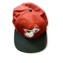 MIAMI HEAT ADIDAS Miami Heat Logo NBA Baseball Hat Snapback Hat One Size... - $9.90
