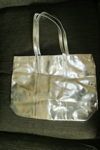 Clinique Silver Tote Bag w/ Travel Facial, Fragrance & Makeup Items - $24.70