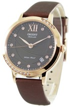 Orient Fashionable Automatic Crystals Er2h002t Women's Watch - $240.00