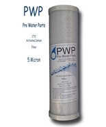 Carbon Filter 5 Micron PWP CTO Pro Water Parts Brand  RO filter Taste an... - $10.99