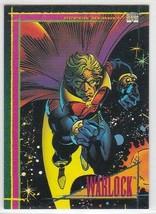 M) 1993 Marvel Comics Skybox Trading Card #10 Warlock - $1.97