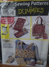 Sewing Pattern 5598 Tote and Accessories Uncut - $4.99