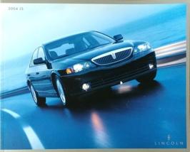 2004 Lincoln LS sales brochure catalog 2nd Edition US 04 V8 Sport Ultimate - $8.00