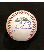 J.D. MARTINEZ AUTOGRAPHED SIGNED O.L. BASEBALL Boston RED SOX w/COA & Ba... - $119.99