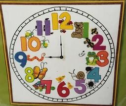 "Sunset Beginning Stitchery My Clock Sampler Chris Davenport 16""x16"" Kit ... - $49.45"