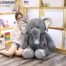 E elephant stuffed plush doll infant sleeping toy kid cute cartoon animal elephant soft thumb200