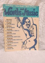 Words & Music Vol. #1, 1971 - $24.50